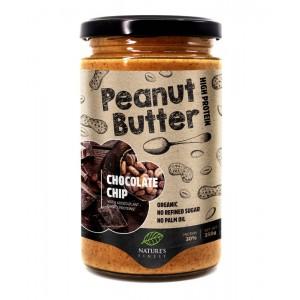 Pindakaas chocolate chip Natures Finest 350g