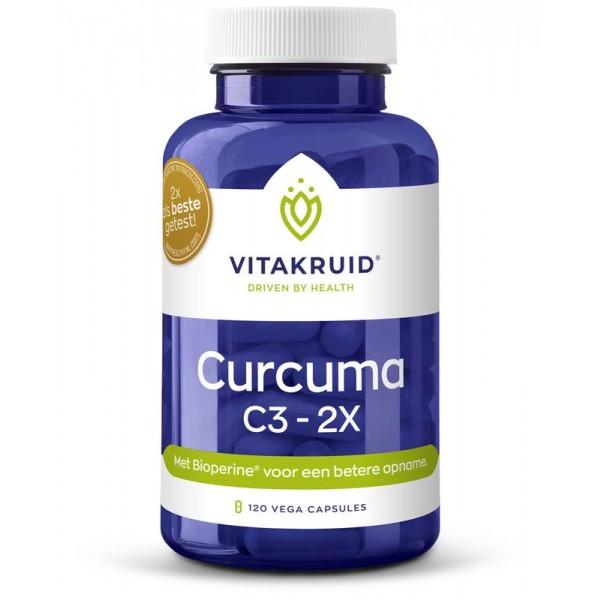 Curcuma C3-2X Vitakruid 120vc