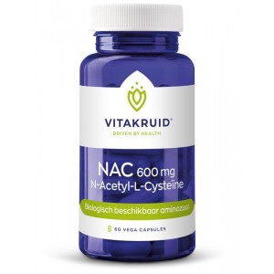 NAC 600 mg N-Acetyl-L-Cysteine Vitakruid 60vc