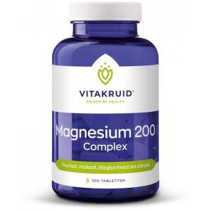 Magnesium 200 complex Vitakruid 100tb