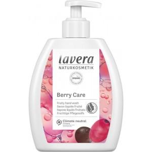 Handzeep bes/hand wash berry care Lavera 250ml