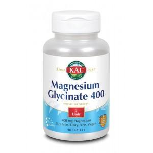 Magnesium glycinaat 400 mg KAL 90tb