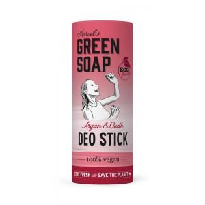 Deodorant stick argan & oudh Marcel's GR Soap 40g