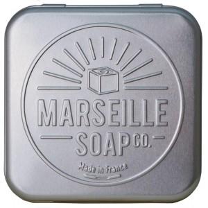 Zeepdoosje aluminium Marseille Soap verp