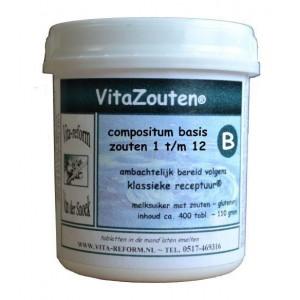 VitaZouten compositum basis 1t/m12 Vitazouten 400tb
