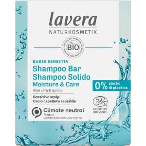 Shampoo bar moisture & care E-I Lavera 50g