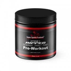 pre workout ripped orange extr SNP 375g
